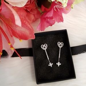 Jewelry - NEW sterling silver cupid's arrow earrings